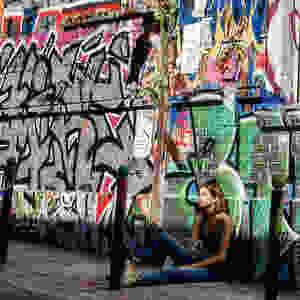 Mikeshake - Kevin M. Doolan - Graffiti Girl