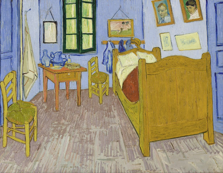 Vincent Van Gogh - The Bedroom (1889)