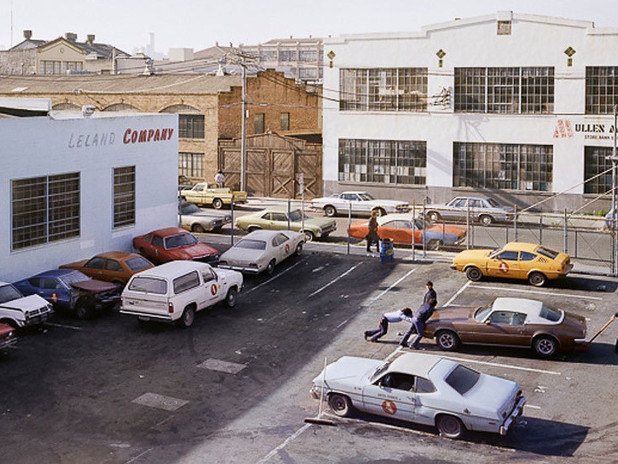 JANET DELANEY: SAN FRANCISCO, SOMA DISTRICT, ENTRE 1970S ET 1980S