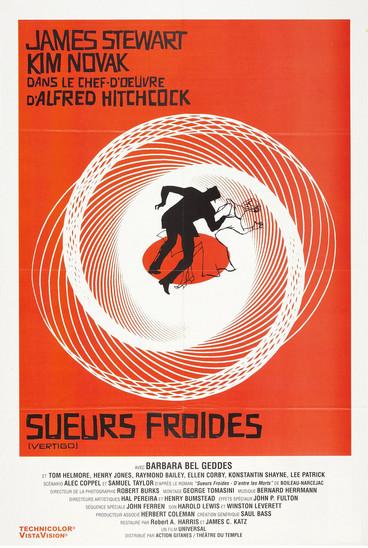 Sueurs Froides (Vertigo) |1958 | Film complet en français