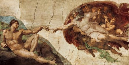 Michelangelo - The Creation of Adam (1512)