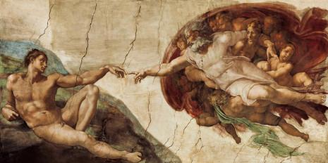 Michelangelo - The Creation of Adam (1512)