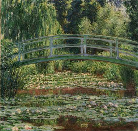 Claude Monet - The Japanese Footbridge (1899)