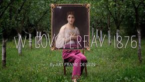 ART FRAME DESIGN: WILLIAM BOUGUEREAU PAR MIKESHAKE CREATIVE STUDIO
