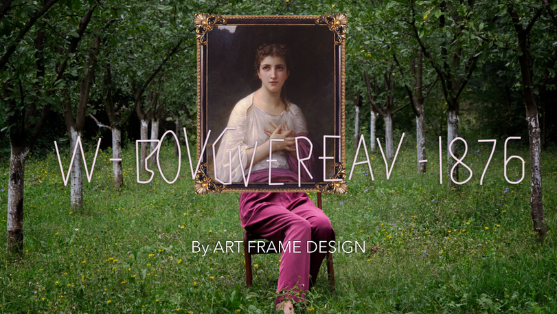 Mikeshake Bouguereau by Art Frame Design