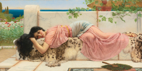 John William Godward - When the Heart is Young (1902)
