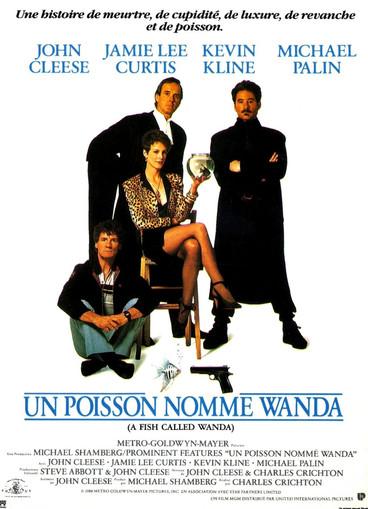 Un poisson nommé Wanda |1988 | Film complet en français