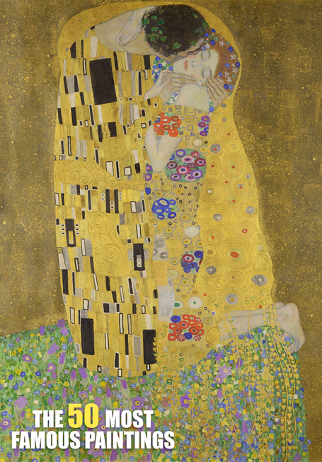 Gustav Klimt - The Kiss (1909)