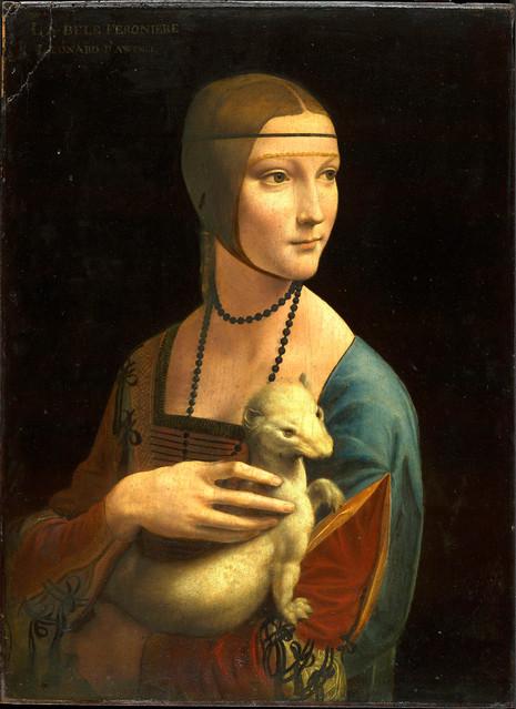Leonardo Da Vinci - Lady with a Hermine (1489)