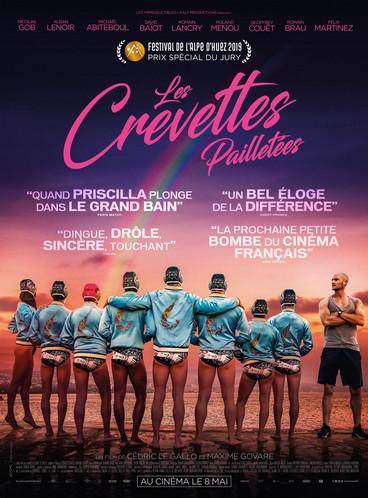 Les Crevettes Pailletées |2019 | Film complet en français