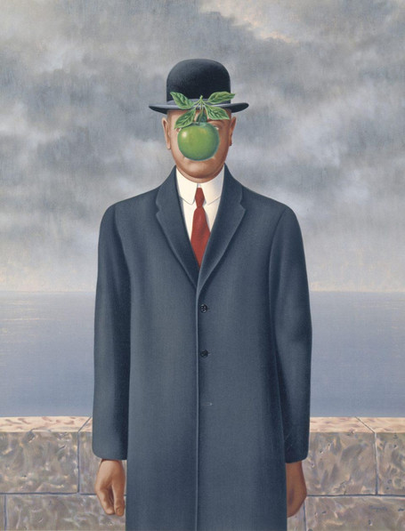 René Magritte - Son of Man (1964)