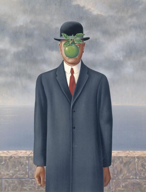 René Magritte - Son of Man (1964)
