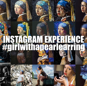 INSTAGRAM EXPERIENCE 04 #GIRLWITHAPEARLEARRING