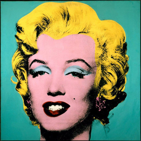 Andy Warhol - Turquoise Marilyn (1964)