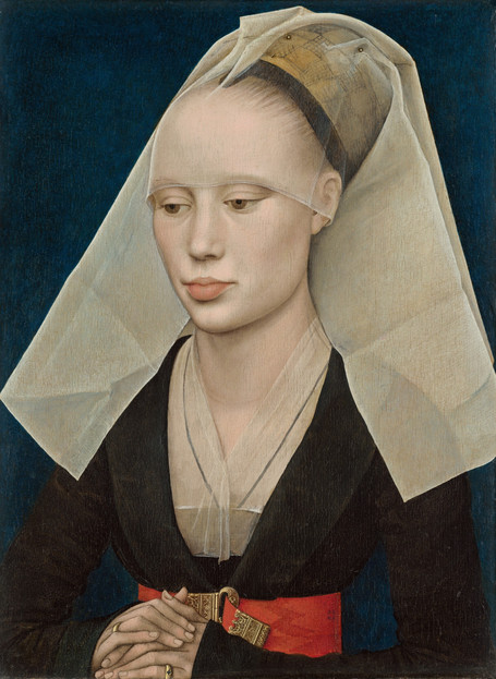 Rogier van der Weyden - Portrait of a Lady (1460)