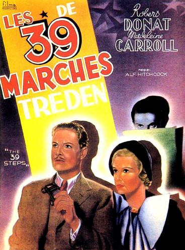 Les 39 Marches  1935   Film complet en français