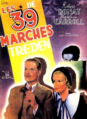 Les 39 Marches |1935 | Film complet en français