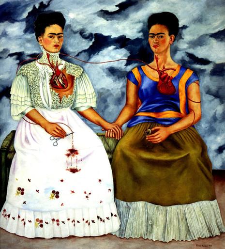 Frida Kahlo - The Two Fridas (1939)