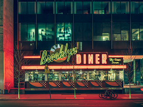 FRANCK BOHBOT: NEW YORK CITY AT NIGHT