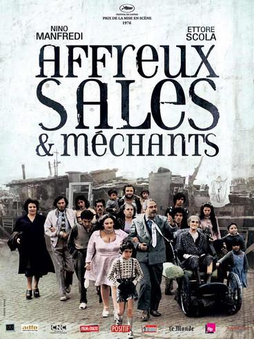 Affreux, sales et méchants |1976 | Film complet en français