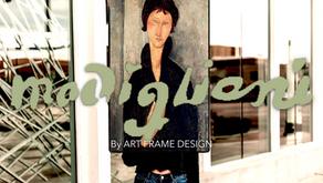 ART FRAME DESIGN: AMEDEO MODIGLIANI PAR MIKESHAKE CREATIVE STUDIO