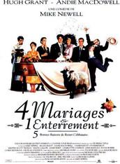 Quatre mariages et un enterrement |1994 | Film complet en français