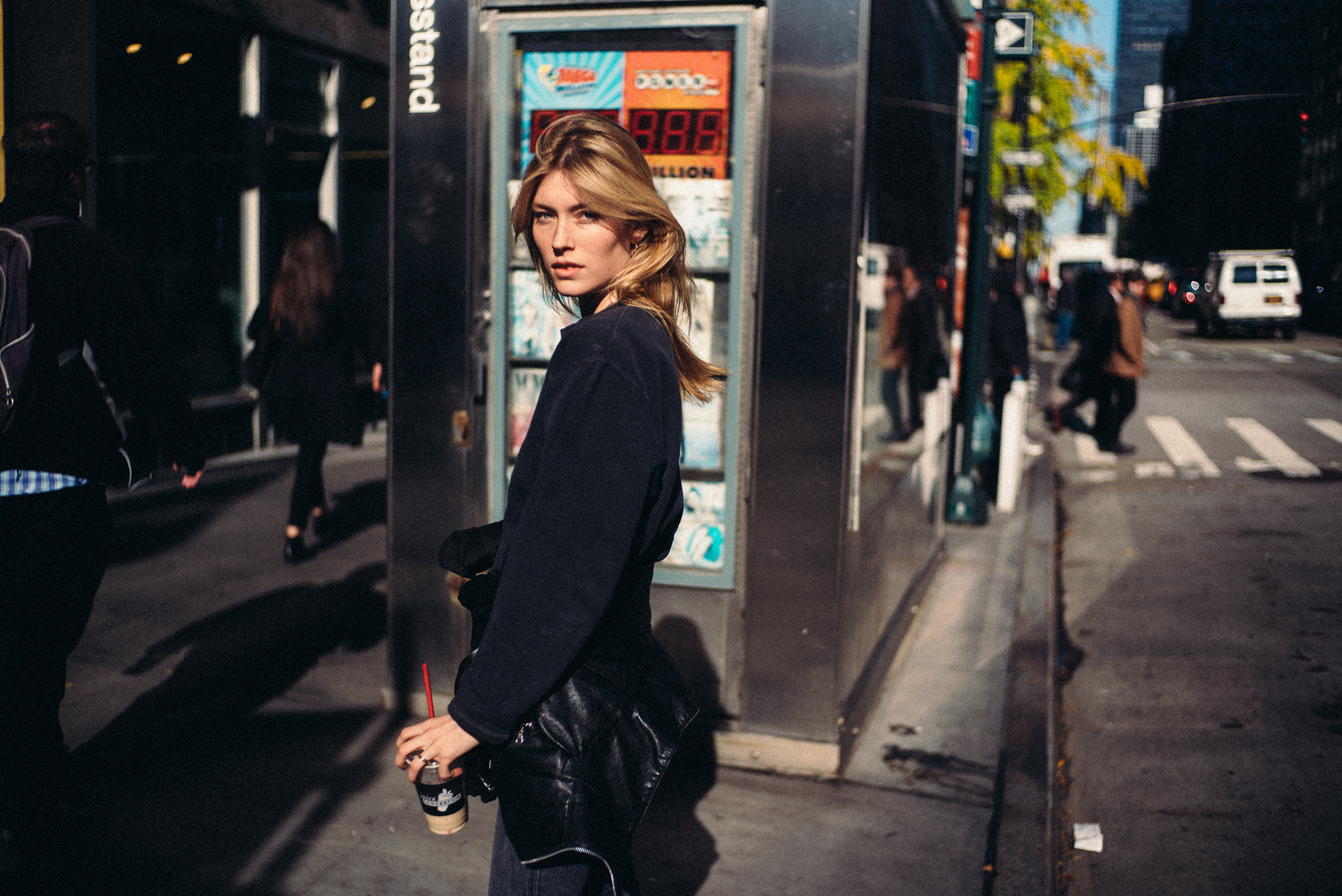 Caro Lossberg in New York City