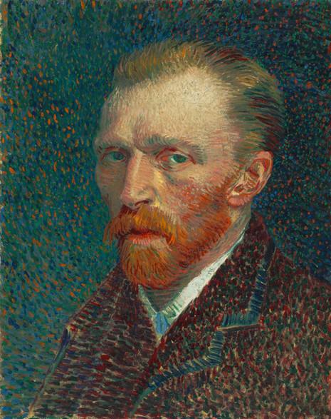 Vincent Van Gogh - Self Portrait (1889)
