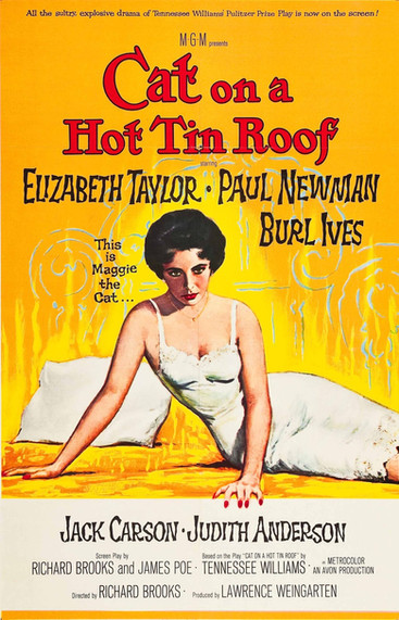 La Chatte sur un toit brûlant |1958 | Film complet en français
