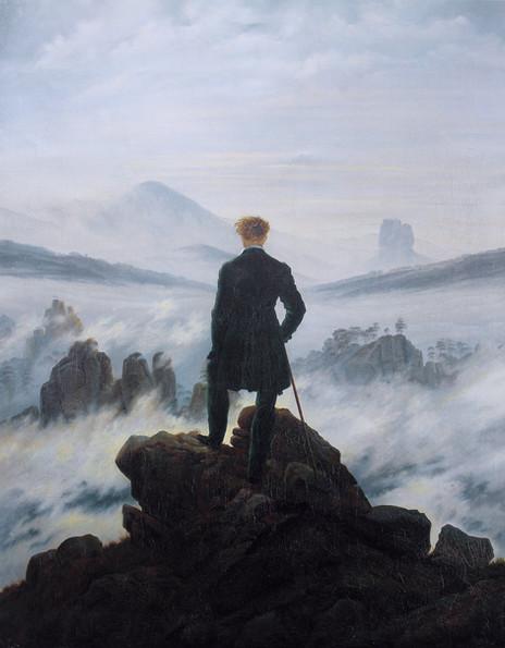 Caspar David Friedrich - Wanderer Above the Sea of Fog (1818)