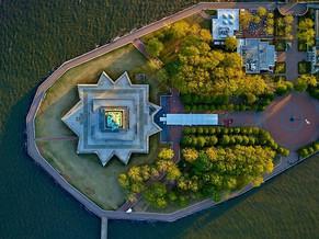 JEFFREY MILSTEIN: VISITE TOURISTIQUE DE NEW YORK VUE DU CIEL
