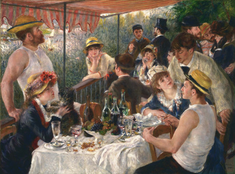 Pierre-Auguste Renoir - Luncheon of the Boating Party (1881)