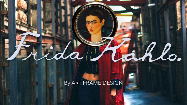 Frida-Kahlo-Art-Frame-Design-Mikeshake-C