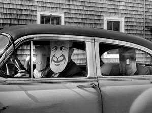 SAUL STEINBERG & INGE MORATH: THE MASKED SERIES