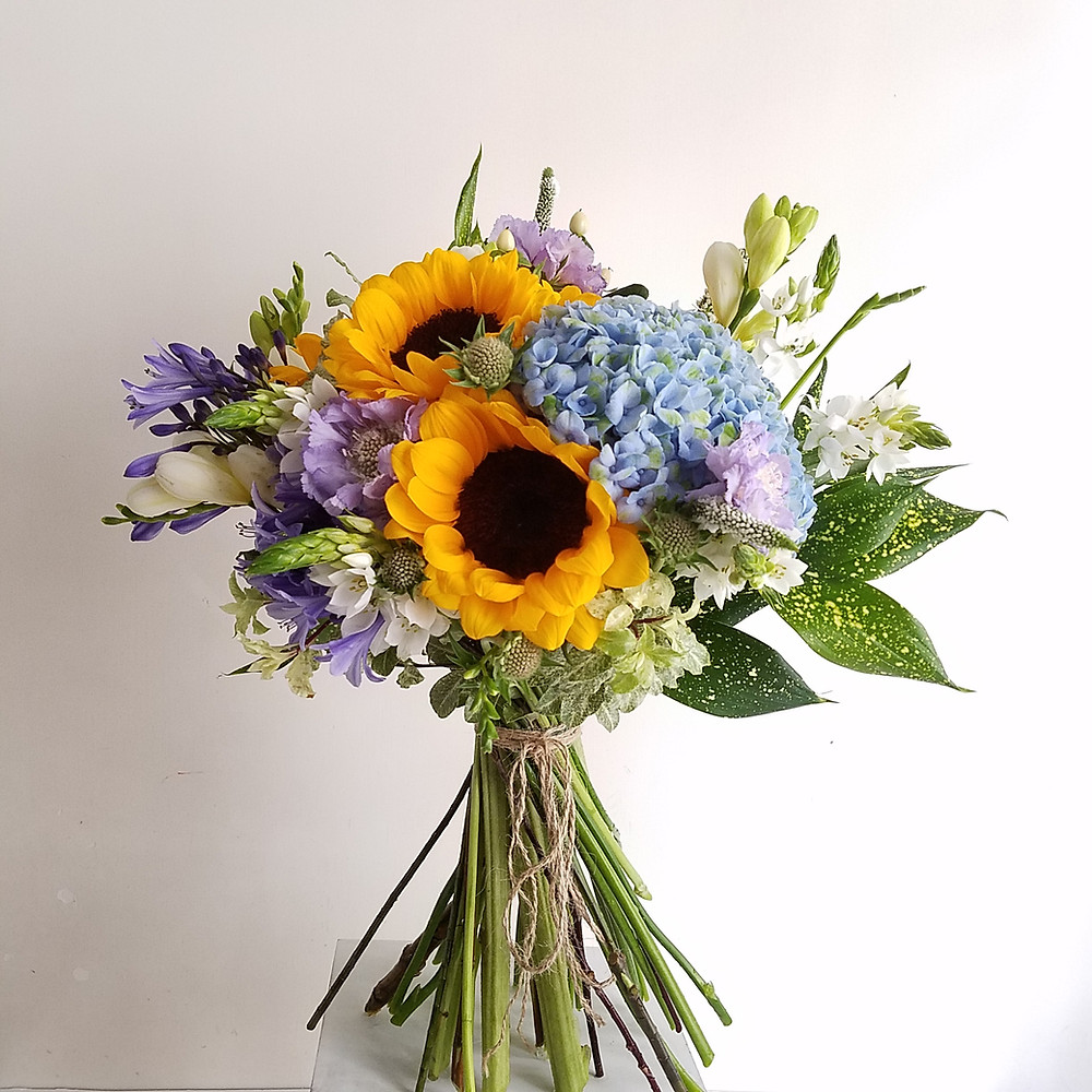 Sunflowers Bouquet for Birthday