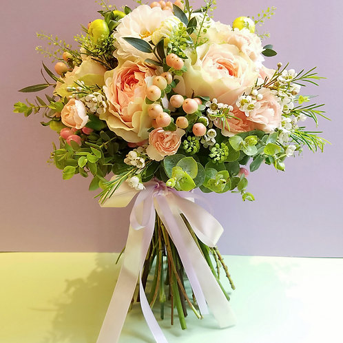 Wedding Flower Bouquet and Corsage (1) - Roses