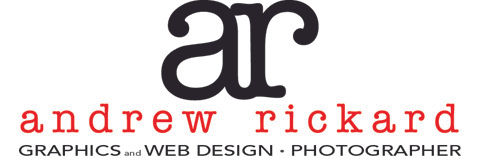 Andrew Rickard creative services, graphic & web designer