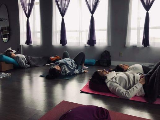 Lights Out! Yoga Nidra Practice