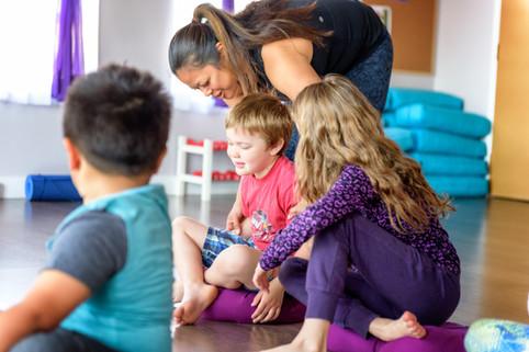 Certified Kids Yoga Instructors
