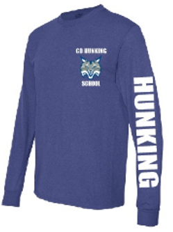 Hunking Royal Longsleeve Tee Option 2