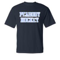 Peabody Hockey Dri Fit Bull on Back