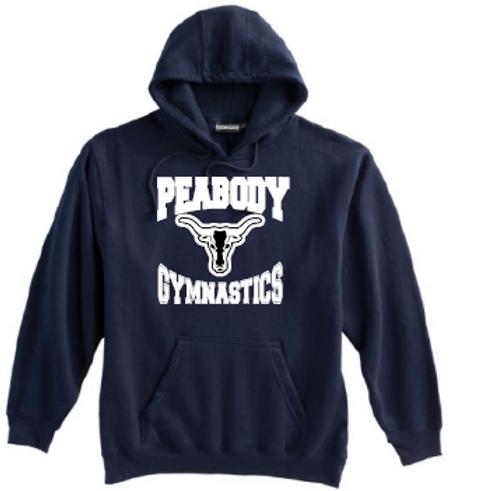 Peabody Gymnastics Navy Hoodie