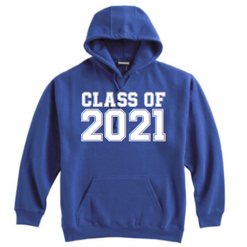 8th Class of 21 Royal Hoodie