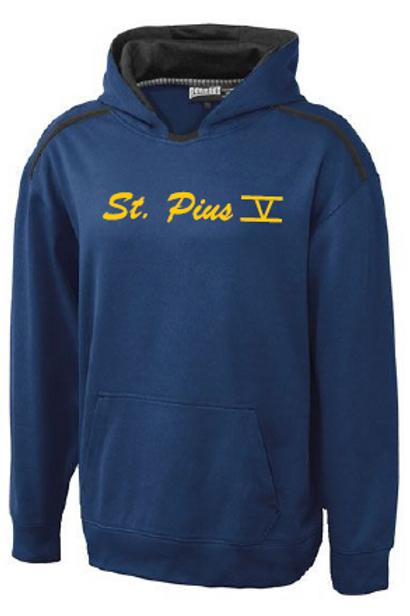 St. Pius Dry-fit Hoodie