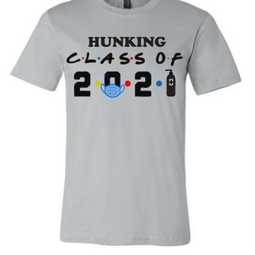 8th Silver Hunking Class of 21 Shirt