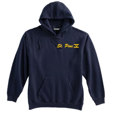 St. Pius Navy Super 10 Hoodie