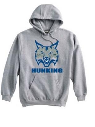 Hunking Grey Super 10 Hoodie Option 2