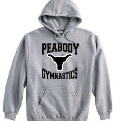 Peabody Gymnastics Grey Hoodie