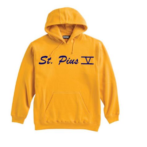 St. Pius Gold Super 10 Hoodie