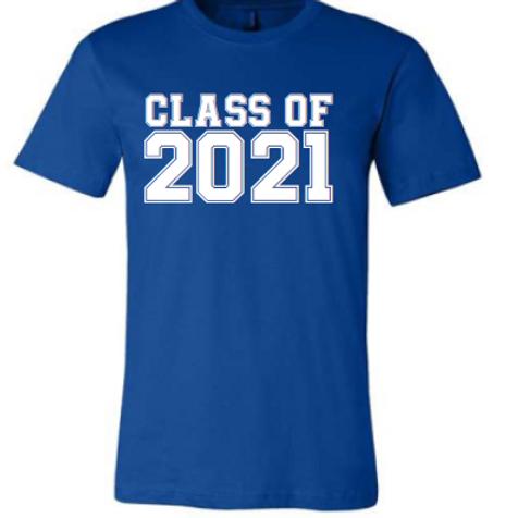 8th Class of 21 Royal Shirt